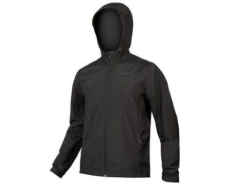 Endura Hummvee Windproof Shell Jacket (Black) (2XL)