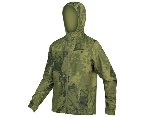 Endura Hummvee Windproof Shell Jacket (Olive Green) (L)