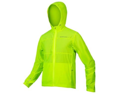 Endura Hummvee Windproof Shell Jacket (Hi-Vis Yellow) (XL)