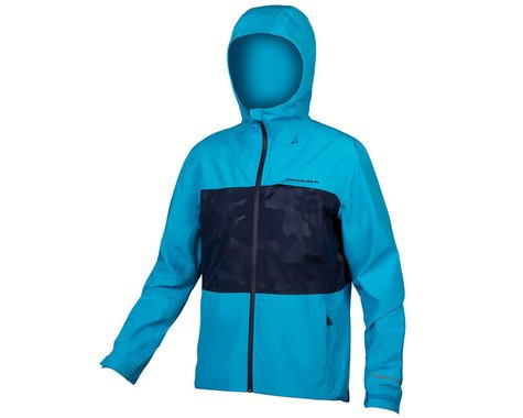 Endura SingleTrack Jacket II (Electric Blue) (XL)