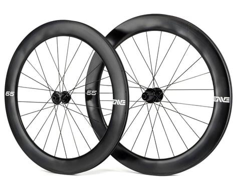 Enve 65 Foundation Series Disc Brake Wheelset (Black) (Shimano/SRAM 11spd Road) (12 x 100, 12 x 142mm) (700c / 622 ISO)