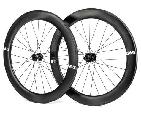 Enve 65 Foundation Series Disc Brake Wheelset (Black) (SRAM XDR) (12 x 100, 12 x 142mm) (700c / 622 ISO)