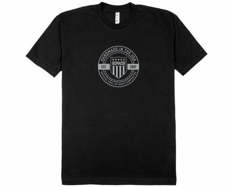 Enve Seal Men's Short Sleeve T-Shirt (Black) (XS)