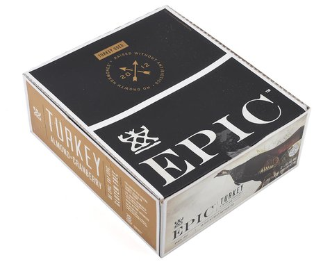 Epic Provisions Turkey Almond Cranberry Bar (12 | 1.5oz Packets)