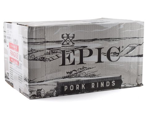 Epic Provisions Cinnamon Churro Baked Pork Rinds (12   2.50oz Bags)