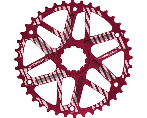 E*Thirteen Extended Range Cog Sram 36t Compatible (Red) (42T)