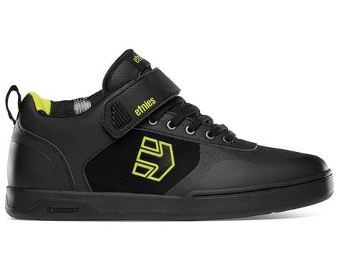 Etnies Culvert Mid Flat Pedal Shoes (Black/Lime) (9)