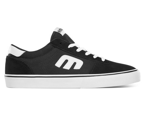 Etnies Calli Vulc Flat Pedal Shoes (Black/White) (10)