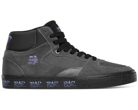 Etnies Screw Vulc Mid X Rad Flat Pedal Shoes (Grey/Black) (8)