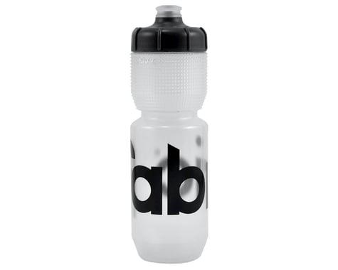 Fabric Gripper Water Bottle (Clear/Black) (25oz)