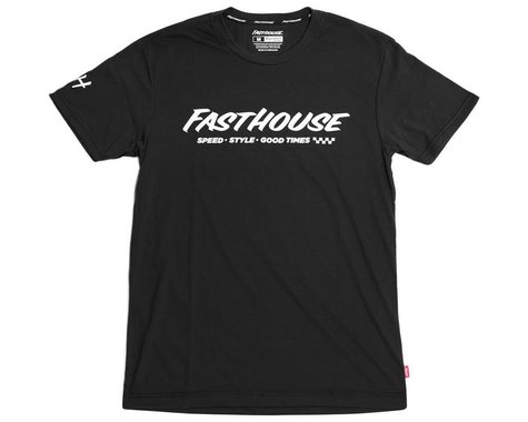 Fasthouse Inc. Prime Tech Short Sleeve T-Shirt (Black) (L)