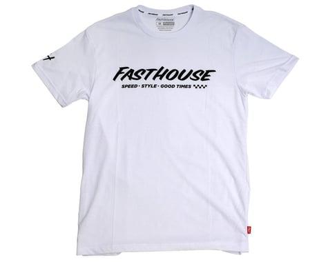 Fasthouse Inc. Prime Tech Short Sleeve T-Shirt (White) (S)
