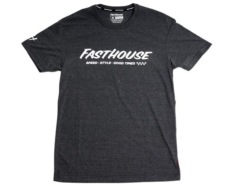 Fasthouse Inc. Prime Tech Short Sleeve T-Shirt (Dark Heather) (S)