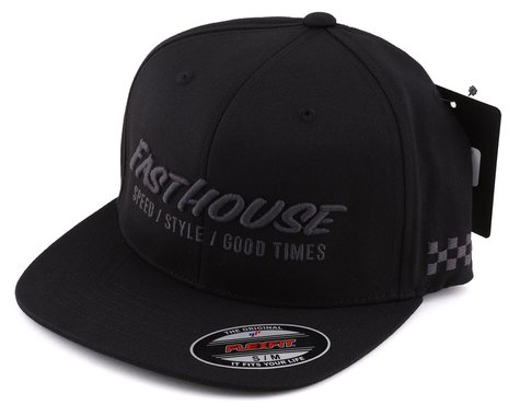 Fasthouse Inc. Classic Fitted Hat (Black) (S/M)