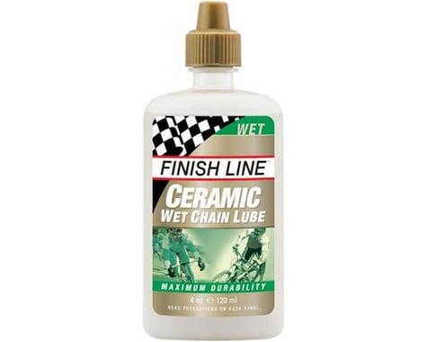 Finish Line Ceramic Wet Chain Lube (Bottle) (4oz)