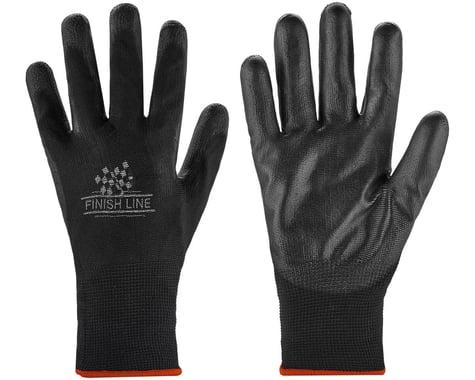 Finish Line Mechanic's Grip Gloves (Black) (L/XL)