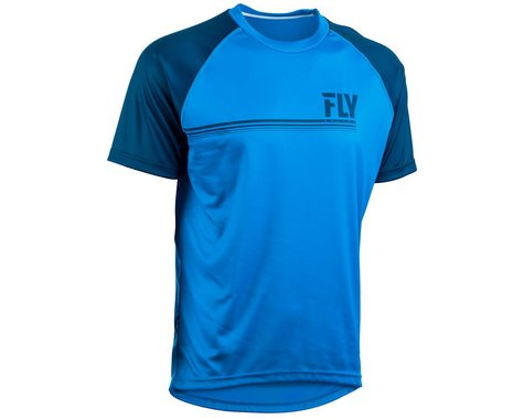 Fly Racing Action Jersey (Blue/Charcoal Grey)