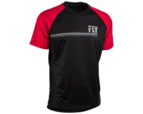 Fly Racing Action Jersey (Black/Red) (M)