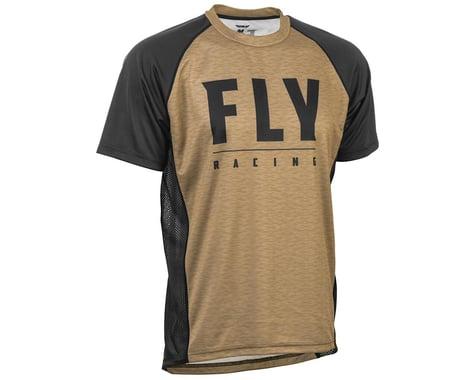 Fly Racing Super D Jersey (Khaki/Black) (L)