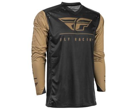 Fly Racing Radium Jersey (Black/Khaki)