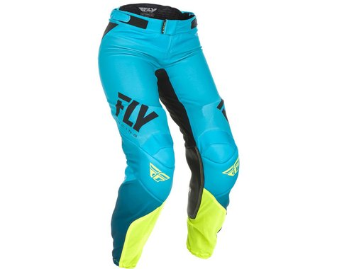 Fly Racing Women's Lite Race Pants (Blue/Hi-Vis) (3/4)