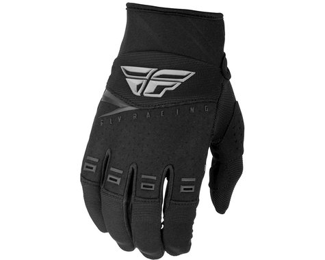 Fly Racing F-16 Youth Gloves (Black)