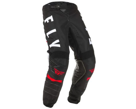 Fly Racing Youth Kinetic K120 Pants (Black/White/Red) (18)