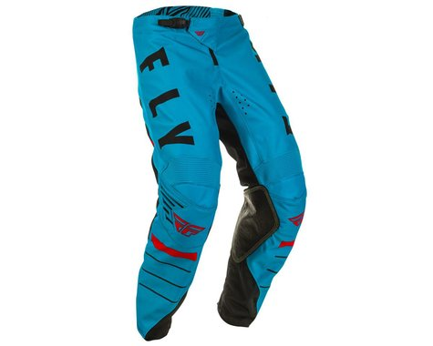 Fly Racing Youth Kinetic K120 Pants (Blue/Black/Red) (18)