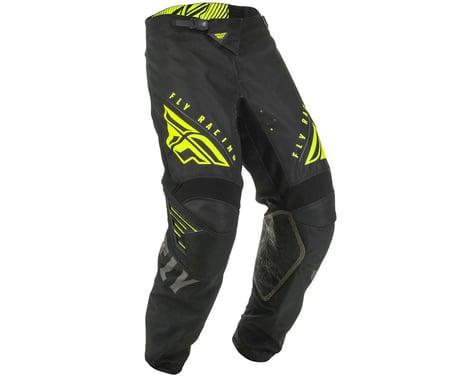 Fly Racing Youth Kinetic K220 Pants (Black/Grey/Hi-Vis) (20)