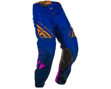 Fly Racing Youth Kinetic K220 Pants (Midnight/Blue/Orange) (20)