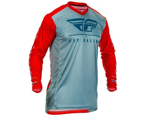 Fly Racing Lite Jersey (Red/Slate/Navy) (S)