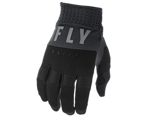 Fly Racing F-16 Gloves (Black/Grey) (Youth 3XS)