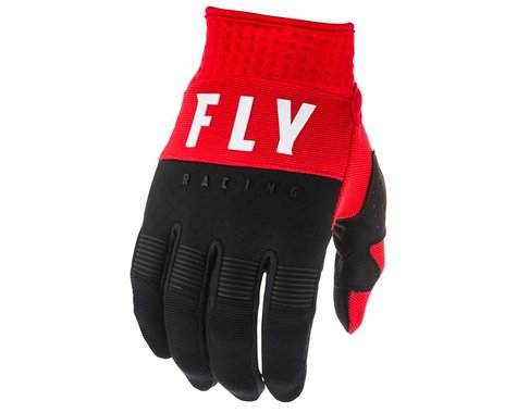 Fly Racing F-16 Gloves (Red/Black/White) (Youth 2XS)