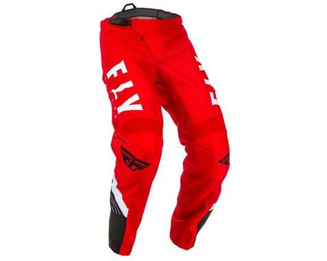 Fly Racing Youth F-16 Pants (Red/Black/White) (18)