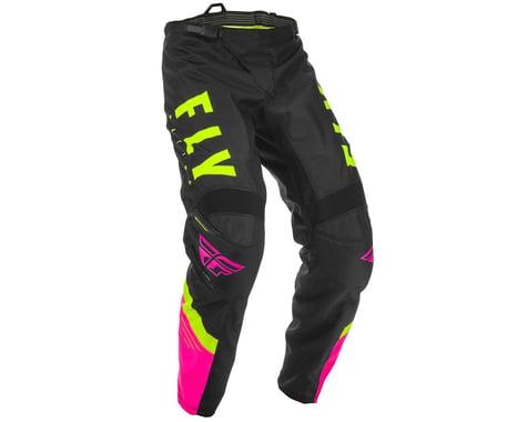 Fly Racing Youth F-16 Pants (Neon Pink/Black/Hi-Vis) (18)