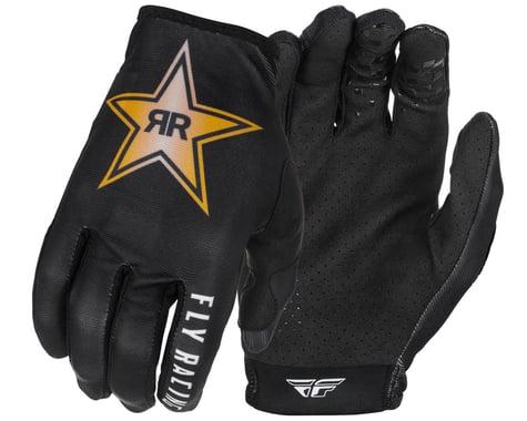 Fly Racing Lite Rockstar Gloves (Black/Gold/White) (2XL)