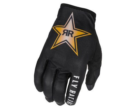 Fly Racing Lite Rockstar Gloves (Black/Gold/White) (M)