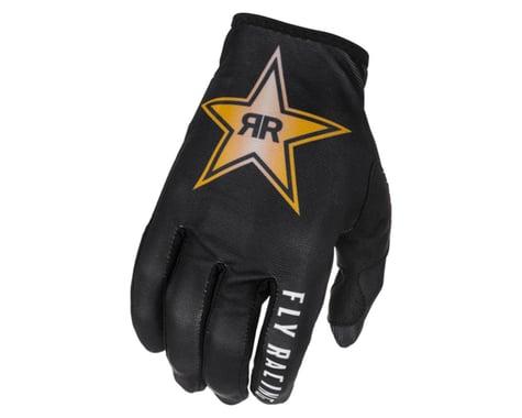 Fly Racing Lite Rockstar Gloves (Black/Gold/White) (S)