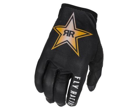 Fly Racing Lite Rockstar Gloves (Black/Gold/White) (XL)