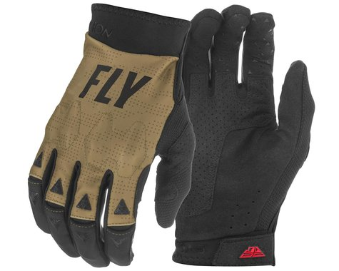 Fly Racing Evolution DST Gloves (Khaki/Black/Red) (XS)