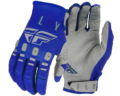 Fly Racing Kinetic K121 Gloves (Blue/Navy/Grey) (XL)