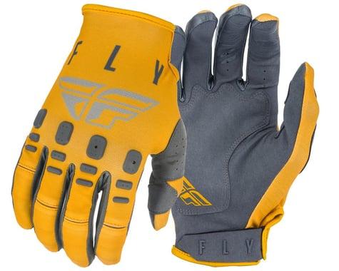 Fly Racing Kinetic K121 Gloves (Mustard/Stone/Grey) (L)