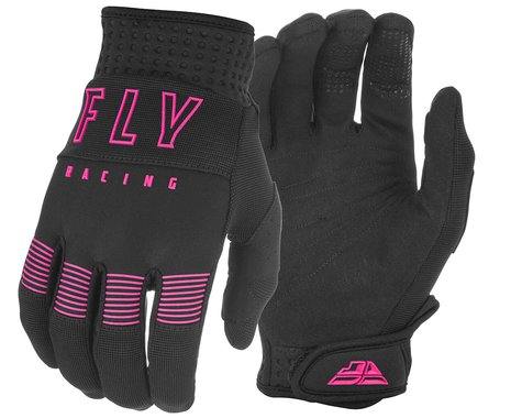 Fly Racing F-16 Gloves (Black/Pink) (XL)