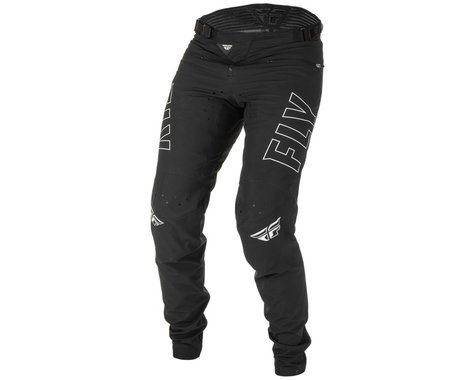 Fly Racing Youth Radium Bicycle Pants (Black/White) (20)