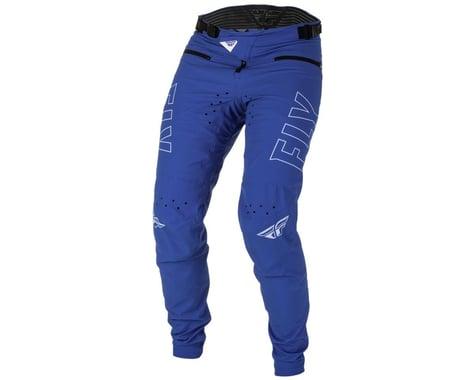 Fly Racing Youth Radium Bicycle Pants (Blue/White) (20)