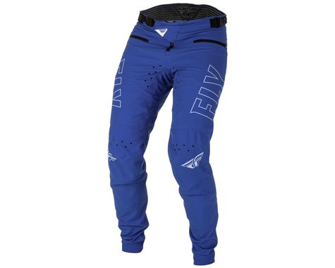Fly Racing Youth Radium Bicycle Pants (Blue/White) (24)