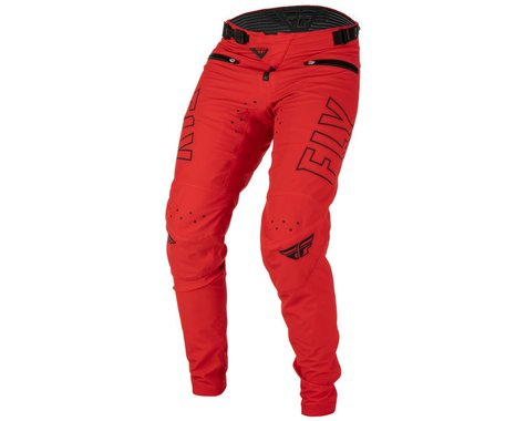 Fly Racing Youth Radium Bicycle Pants (Red/Black) (20)