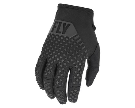 Fly Racing Youth Kinetic Gloves (Black) (Youth L)