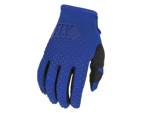 Fly Racing Youth Kinetic Gloves (Blue) (Youth L)