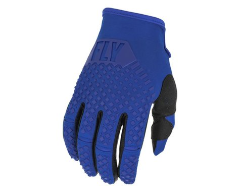 Fly Racing Youth Kinetic Gloves (Blue) (Youth S)